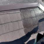 色あせした屋根も